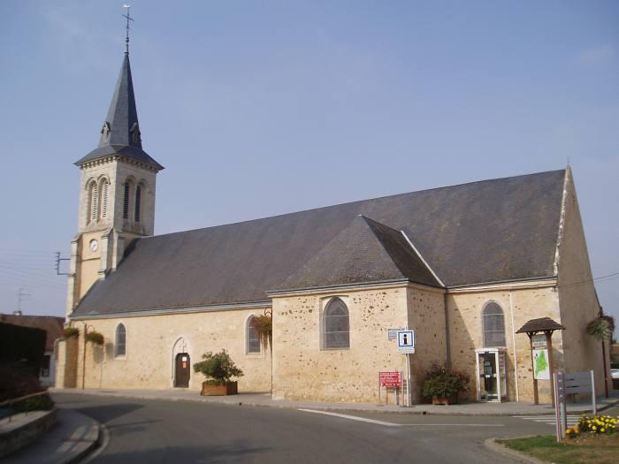Eglise La Fresnaye sur Chédouet