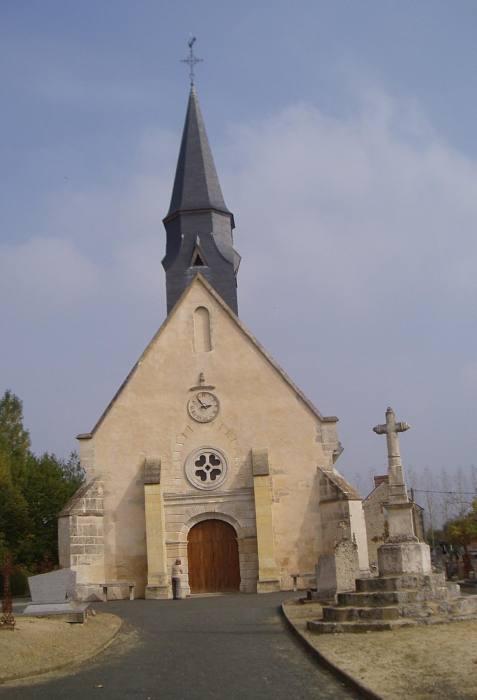 Eglise de Roullée